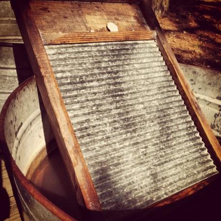 Wash board