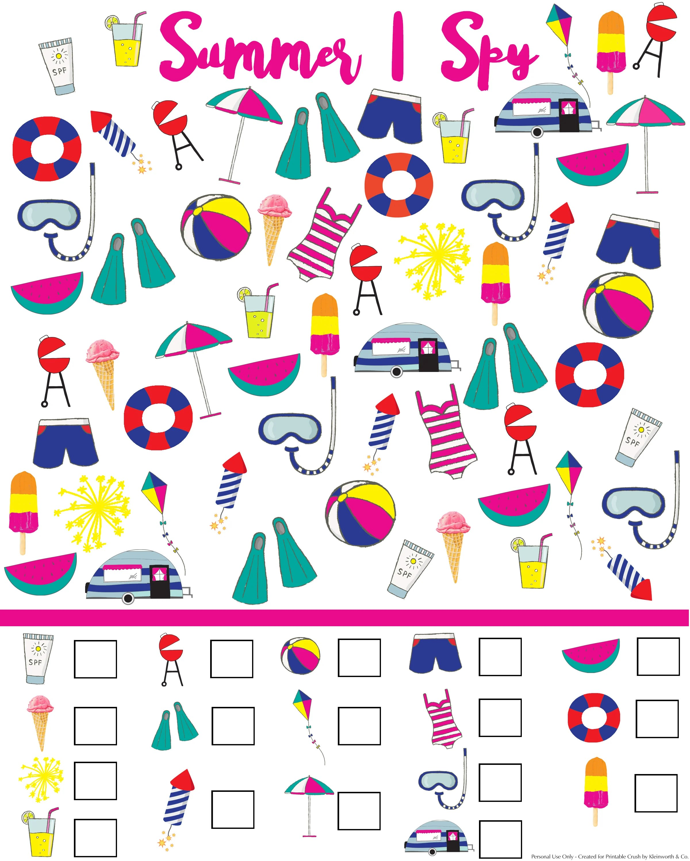 Christmas Doodles I Spy Game Free Printable For Kids Holidays