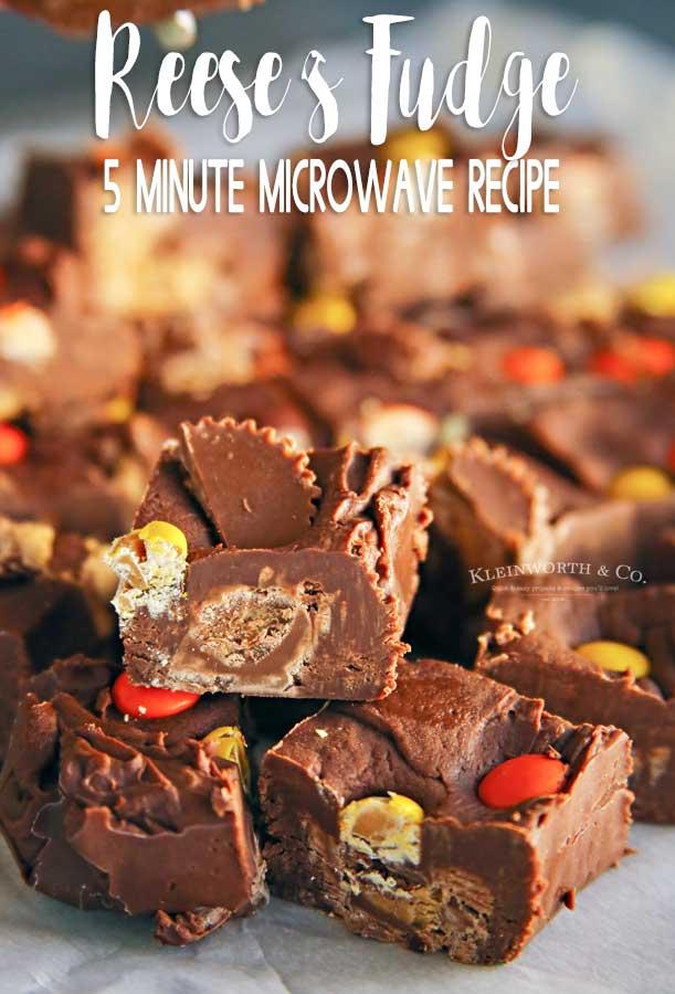 easy microwave reese s fudge kleinworth co