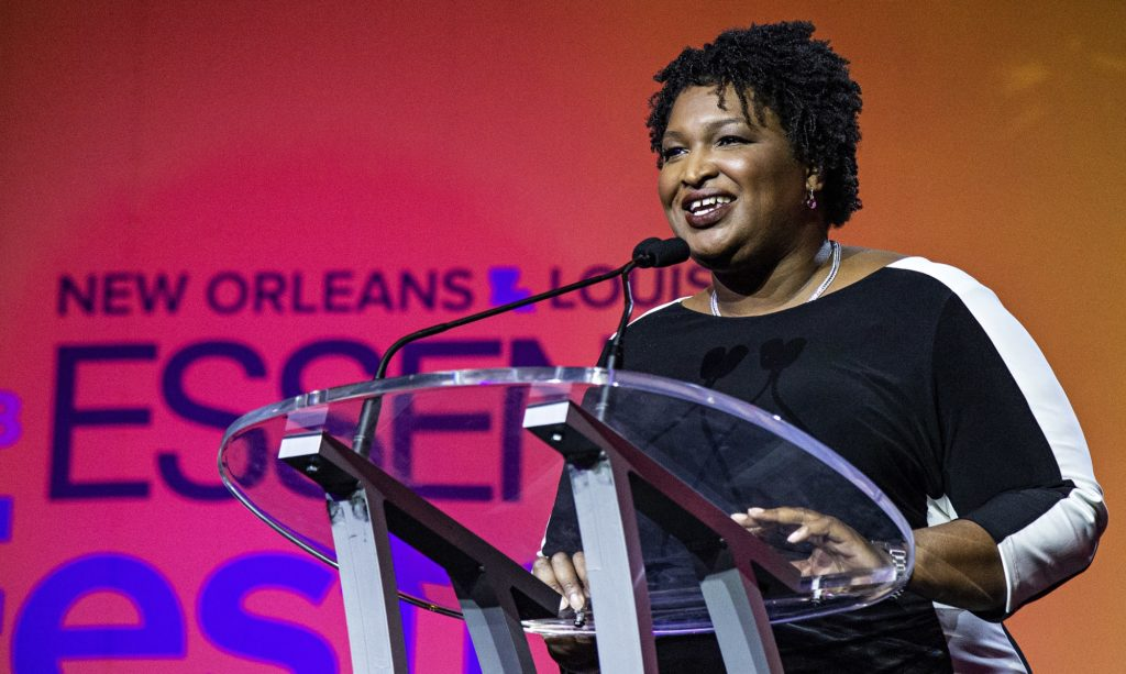 April Ryan Speaks with GA Gubernatorial Candidate Stacey Adams