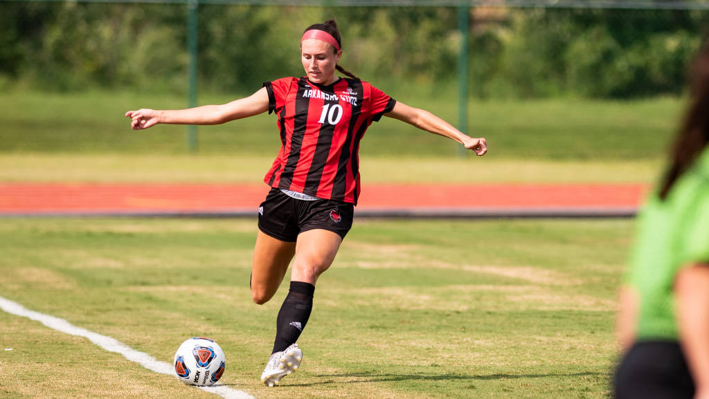 A-State Soccer Wins Thriller in Overtime
