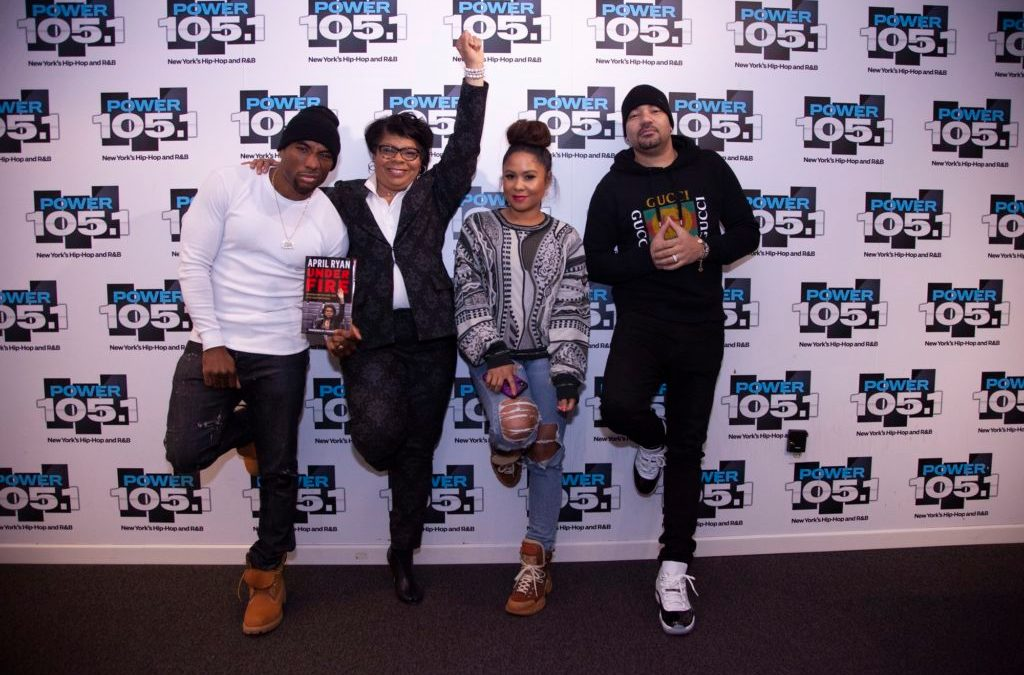 April Ryan Stops By The Breakfast Club