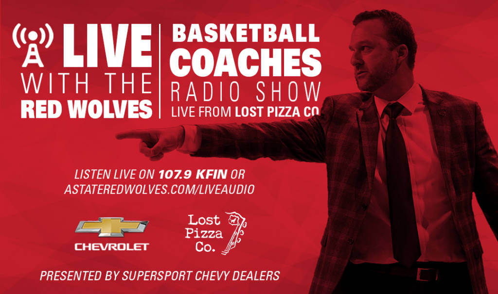 """""""Live with the Red Wolves"""" Radio Program Begins Monday"""