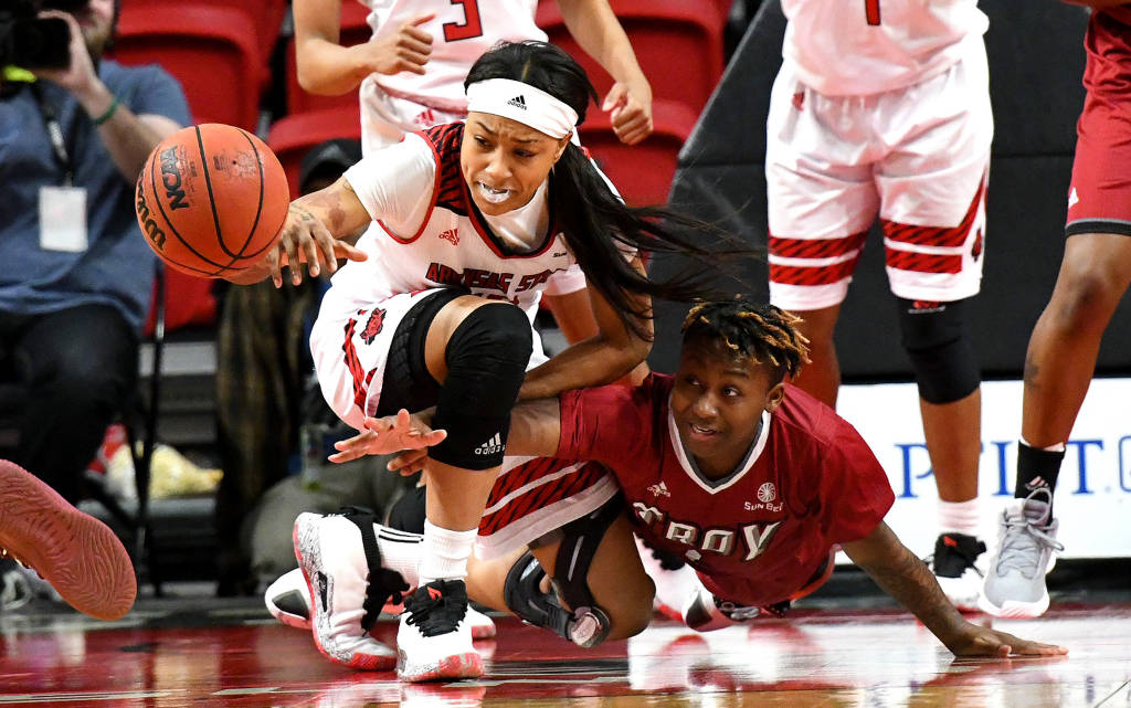 A-State Unable to Keep Pace With Troy