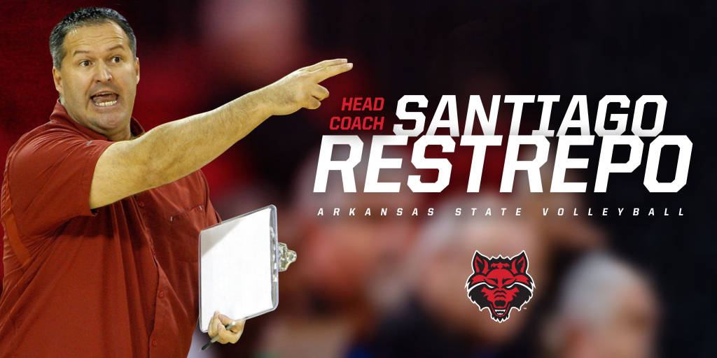 Santiago Restrepo Named A-State Volleyball Coach