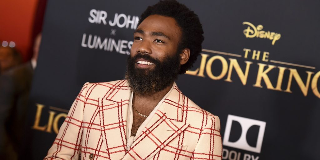 Donald Glover Talks Lion King