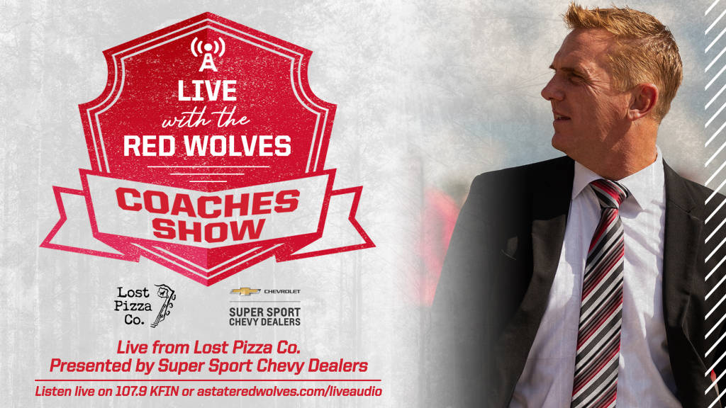 """""""Live with the Red Wolves"""" Radio Program Begins August 19"""