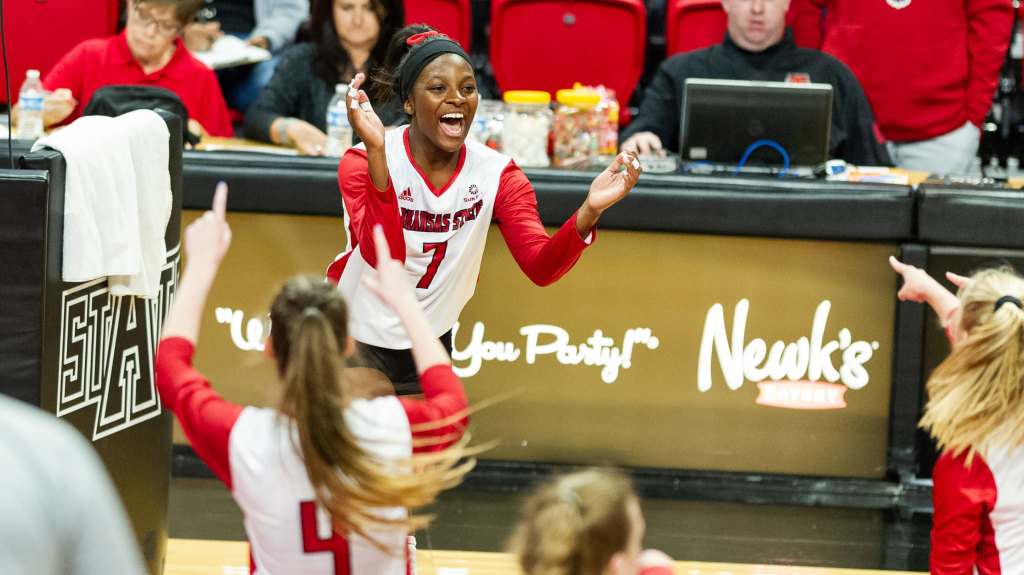 A-State Earns Capital City Sweep At Little Rock On Saturday