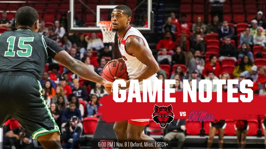 Game Notes: @AStateMB at Ole Miss