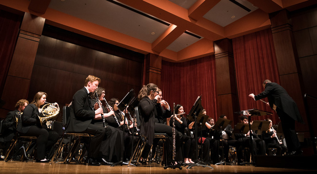 Wind Ensemble to Present Invited Concert at CBDNA Event