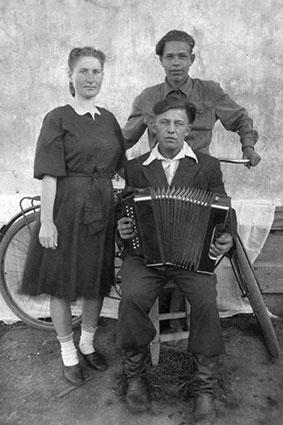 Гармонист-Степанидин Николай Семёнович, 1952 г.
