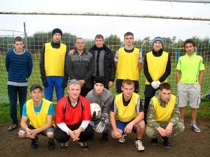 Футбольный турнир в честь дня Лесной промышленности