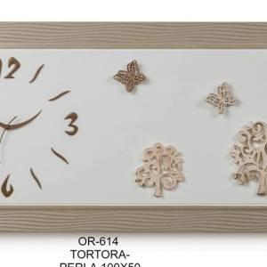 OROLOGIO /QUADRO ALBERO DELLA VITA 100X50