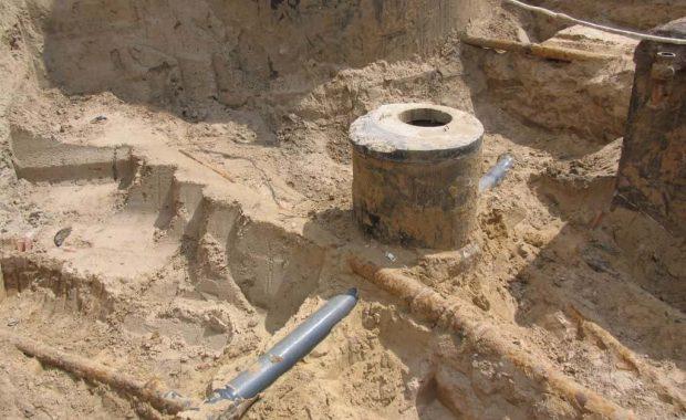 Trwa remont ujęcia wody w Łękińsku
