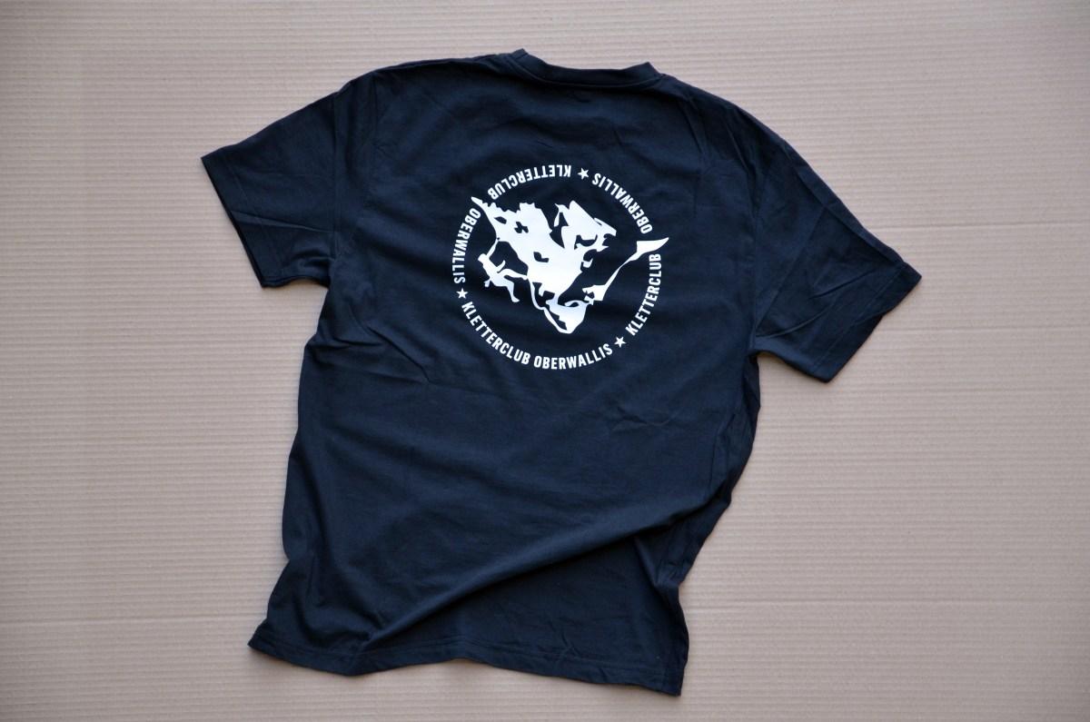 T-Shirt Kletterclub Oberwallis