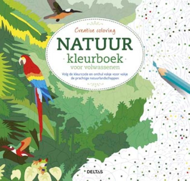 Natuur Kleurplaten Deltas.Creative Coloring Natuur Kleurboek Voor Volwassenen Kleurplatennl Nl