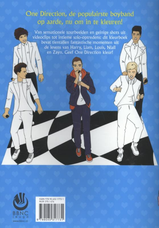 Kleurplaten One Direction Niall.Het Enige Echte One Direction Kleurboek Kleurplatennl Nl