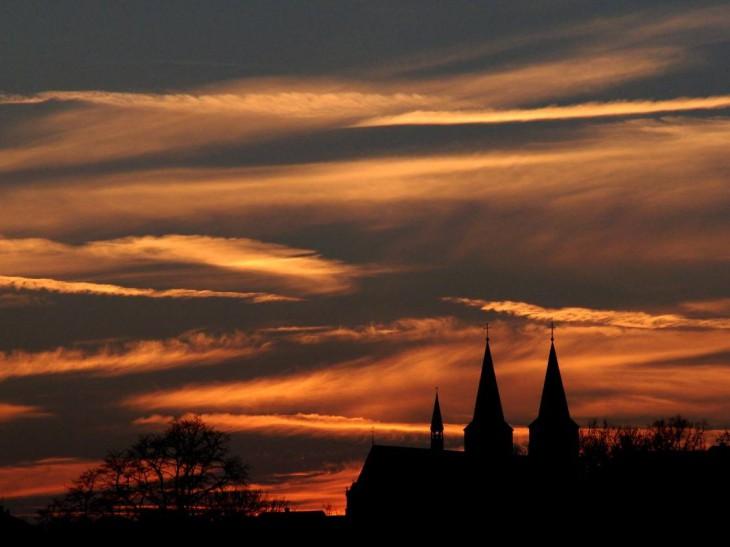 Wolken wie Pinselstriche von van Gogh (Foto © Duck Heek)