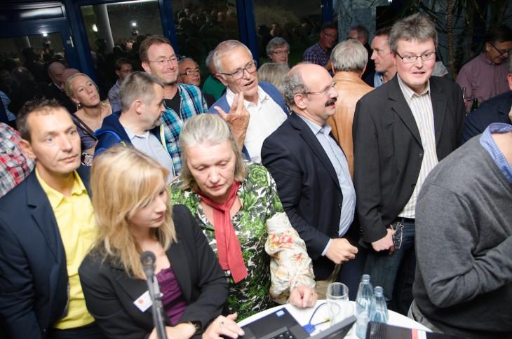 André Budde, Jorg Cosar, Wolfgang Gebing – drei Christdemokraten als Zeugen einer historischen Nacht