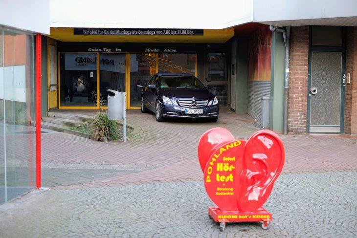 Kleves schönster Carport: ein ehemaliger Supermarkt