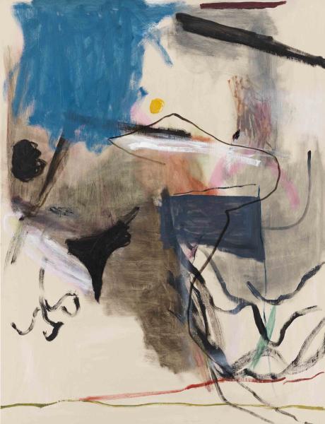Dieses Gemälde von Jongsuk Yoon heißt Insomnia, und m.E. ist der Zustand der Schlaflosigkeit sehr gut getroffen