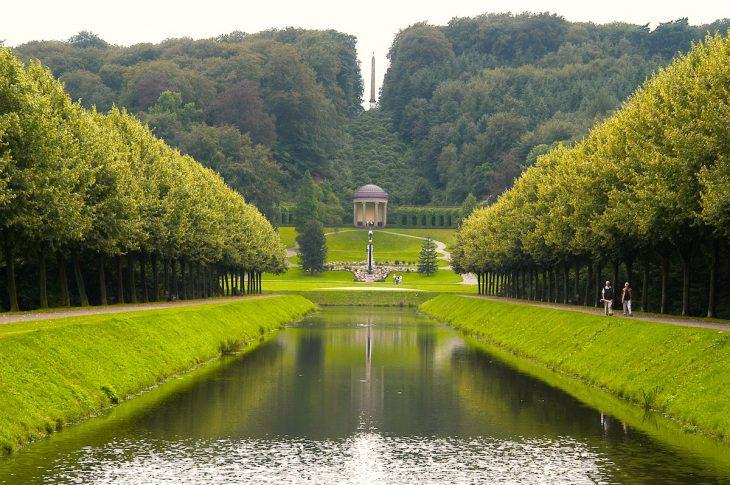 Wir haben den Kanal noch lange nicht voll: Bedeutendes Kulturerbe Neuer Tiergarten (Foto: Stadt Kleve)