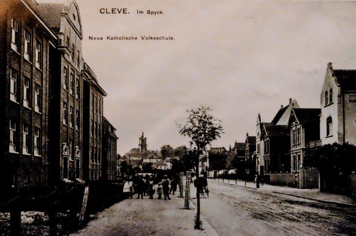 Die Spyckstraße Anfang des 20. Jahrhunderts