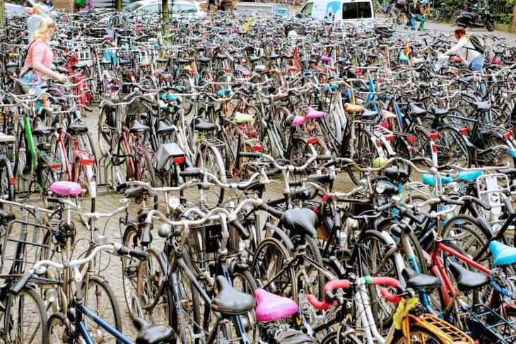 In vielen Städten wie zum Beispiel in Groningen ist das Radfahren deutlich verbreiteter als in Kleve – die Neuauflage der Aktion Stadtradeln könnte dies zumindest ein wenig ändern