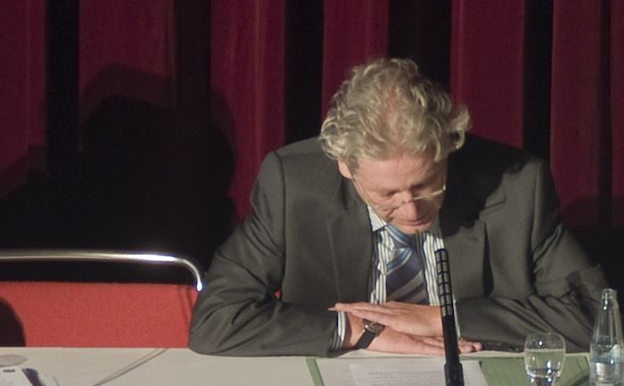 Seine härtesten Widersacher finden sich, wer hätte das gedacht?, In den eigenen Reihen: Bürgermeisterkandidat Udo Janssen