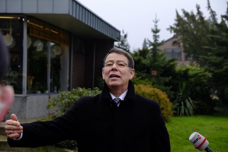 Verteidigte Schließung: Rudi van Zoggel