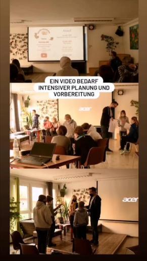 Ein Video bedarf intensiver Planung und Vorbereitung