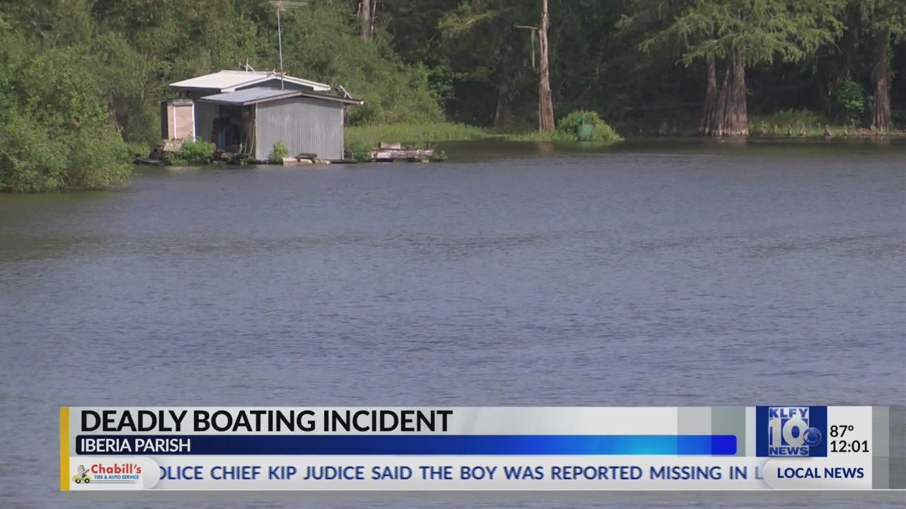 Iberia Parish Boating Accident