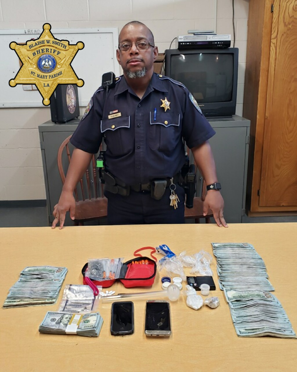 Two arrested on drug charges after St  Mary Parish traffic stop