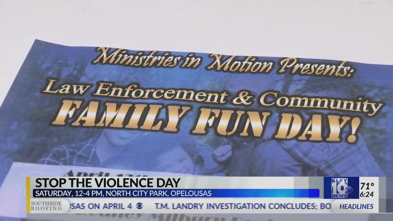 Opelousas Stop the Violence Day
