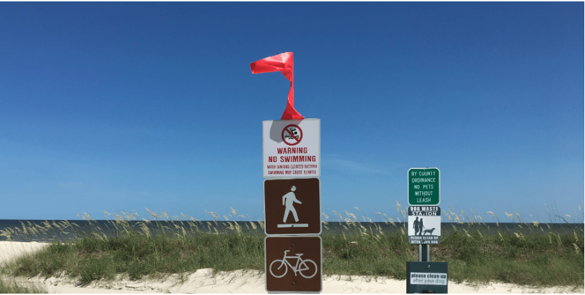 UPDATE: All South Mississippi beaches now under algae-related water