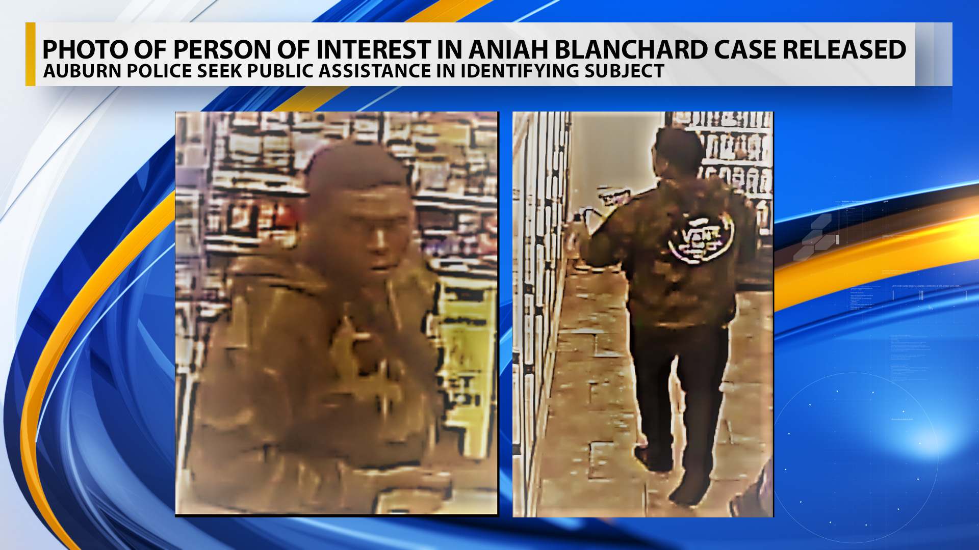 BREAKING: Police Looking Person Of Interest In Aniah