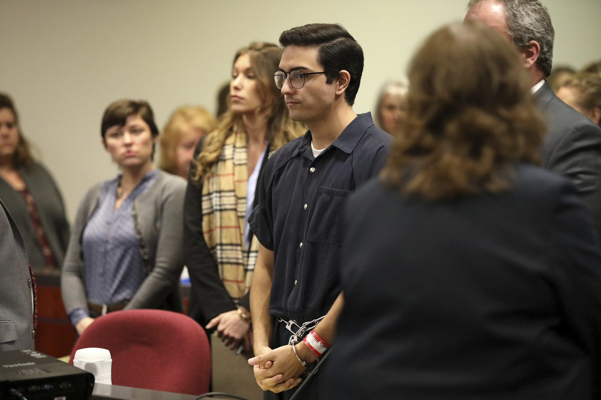 Steven Jones was sentenced to a six year prison term Tuesday afternoon February 11 2020 in Flagstaff, Ariz. after taking a plea deal on one count of manslaughter and three counts of aggravated assault stemming from an October 2015 shooting on the Northern