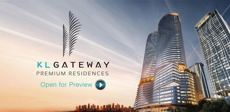 KL Gateway Building Sunrise View