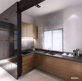 KL Gateway Premium Residences Kitchen