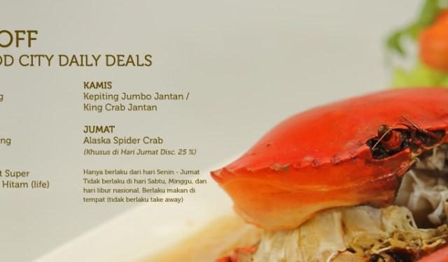 KLIK DIREKTORI | Promo Bandar Djakarta Seafood City
