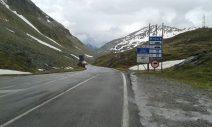 ... über den Splügen-Pass in die Schweiz ging ... (C) Dirk Otte