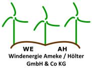 Logo Windenergie Ameke/Hölter (WEAH)