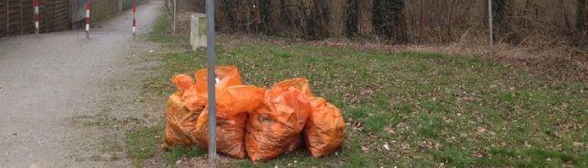 Frühjahrsputz im Kappenbusch 2015 (C) U. Mandel
