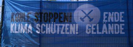 Demo EndeGelände, Datteln 4, 17.05.2020