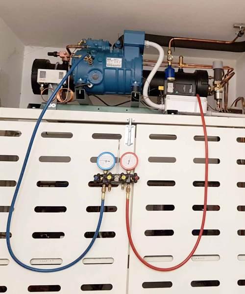 Impianto frigorifero realizzato su misura