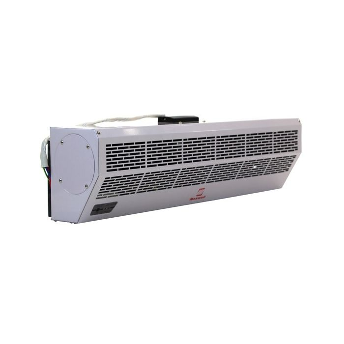 24 maxwell air curtain with electric heater and remote control 208 230 1 30