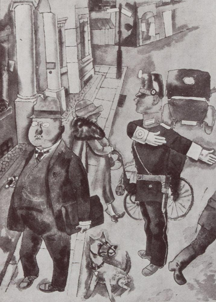 Galerie Alfred Flechtheim Ausstellung George Grosz 29