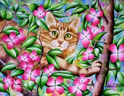 imagenes de fantasia de gatos