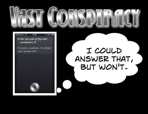 Siri declines to answer questions about any role it might play in conspiracy