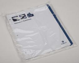 Custom Poly Bagged Tabs